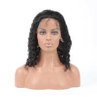 good price premium quality a grade indian hair girl micro braided lace front wigs for black women