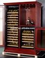 168- flasche kompressor eiche stehen weinflaschen holz 110v50hz