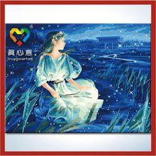 luminous oil painting 60x80cm Zhuhai Truehearted family nude
