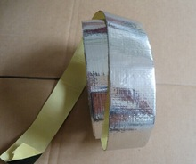 1.2mm Reinforced tape asphalt based adhesive for roof waterproofing