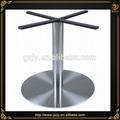 Personalizado- feito de aço inoxidável escovado bases de mesa