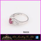 Cheap price black onyx & citrine stone ring manufacturer factory price
