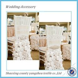 Chiffon Organza Wedding Fancy Chair Cover