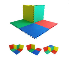 Colorful Kindergarten EVA foam tatami puzzle mat