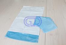 disposable sterilized blue general surgical dental bib