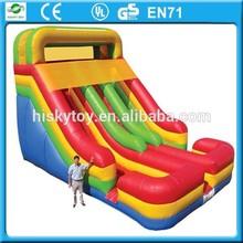 High quality and safe inflatable slide,slide,popular inflatable toboggan slide