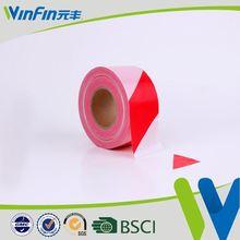 Best Selling PVC Material pvc lane marking tape colored logo warning tape