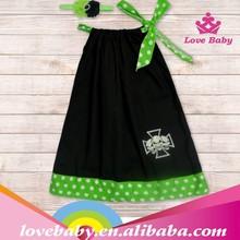 cenicienta vestidos para niñas moda negro mini vestido de niña de hecho en china