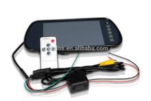 """DLS 7"""" car monitor lcd backup rear view mirror tft lcd car monitors"""