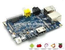 1GB DDR arm Development Board banana pi support Linux,Debian,Ubuntu System Board.