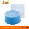 lsm2231 fondant de silicio ronda de encaje decoraciones de cumpleaños de la torta de la boda