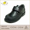 2015 nuevo estilo de alta calidad hechos a mano de cuero niños zapatos de uniforme escolar