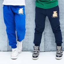 wholesale2014 fall and winter clothes new Korean children Cubs Boys fleece sports pants casual pants long pants kz-4137
