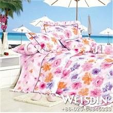 single bed 2014plain viscose cottong bedding set