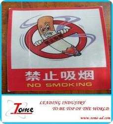 Shape reflective sticker, reflective pvc flex & sticker for temporary work zone signs