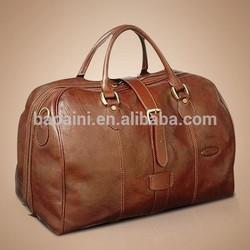 High-end handbag leather duffel bag
