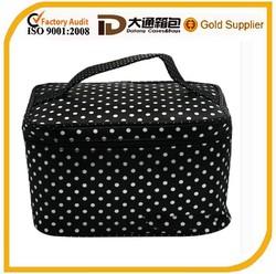 fashion hot sale promotional nylon rectangular cosmetic bags