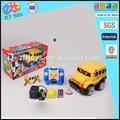 Juguete de color amarillo de la escuela bus de control remoto de coches de juguete para los niños, control remoto stunt coche de juguete