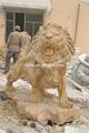 รูปปั้นสิงโตหินแกะสลักสิงโตvas-b030สำหรับการขาย
