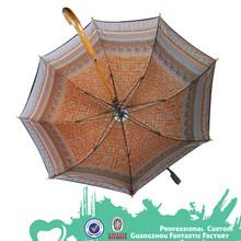 Double layer water & wind resistant umbrella