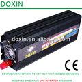 12 220v voltios voltios del inversor! 2500w de onda sinusoidal modificada inversor 24v 220v con cargador de batería