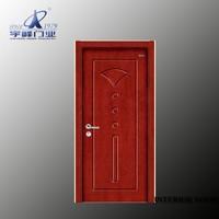 interior curved wood door