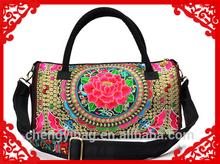 Shoulder Canvas Sling Embroidery Ladies Fancy Bag
