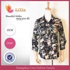 Women long camouflage blouses latest fashion blouses