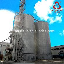1500t Hopper Bottom Galvanized Steel Silo For Cargill Feed Mill In Vietnam