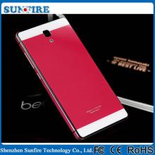 Tempered Glass Metal Aluminum Back Cover Case for Blackberry