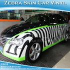zebra skin car wrap vinyl film used car sales
