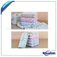 enjoyment organic cotton satins trips face towel