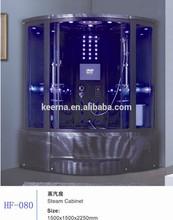 luxury two person hydro black massage Sauna Steam Room