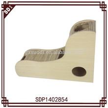 SD modern wooden stair cat tree