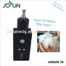 High watts big vapor JOSUN 70 real watts box mod beast mod