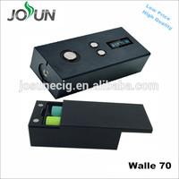 2015 High watts big vapor JOSUN 70 real watts bottom button ecig mod