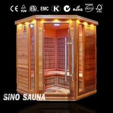 Solid Wood Hemlock Ozone Sauna Spa Capsule For Sale with Tourmaline (CE/ISO/TUV/ETL)