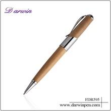 Cheap ballpoint pen promotional gift pen wood