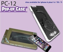 Custom pop-up shape Cell Phone Case Mobile Case