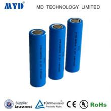 Lithium iron phosphate Battery 3.2V 1400mAh 18650 Cylindrical Battery