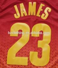LeBron James #23 Cleveland Fashion Basketball Jersey