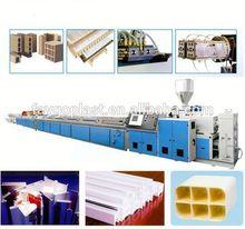 PVC foamed extrusion line pe foam fruit net machine