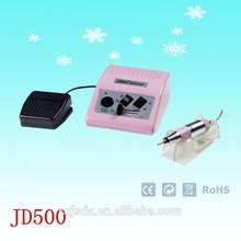 JD500 2014 30000rpm round nail row nail drill type nail file high quality