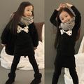الخريف والشتاء والملابس الجديدة wholesale2014 القوس الكورية ابتزاز الفتيات اللباس الطفل qz-0194 طفل رضيع