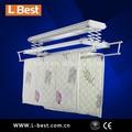 mando a distancia automática de aluminio de secado de la ropa rack suspensión de ropa instalar el balcón celling