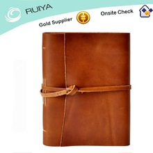 Superior Quality Top Grain Leather Notebook for Journey
