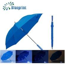 Wholesale best straight umbrella promotion led gift