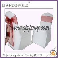 pretty organza chair sashes for wedding/2015 Fashional Cheap Organza Chair Sashes For Weddings