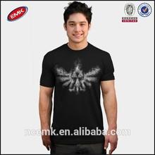 triforce smoke t shirt mens black t shirt wholesale
