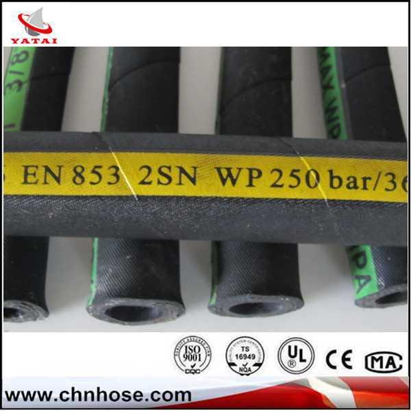 ผลิตภัณฑ์ใหม่ร้อน2014การกัดกร่อนลักษณะจีนที่มีคุณภาพสูงท่อยางไฮดรอลิ